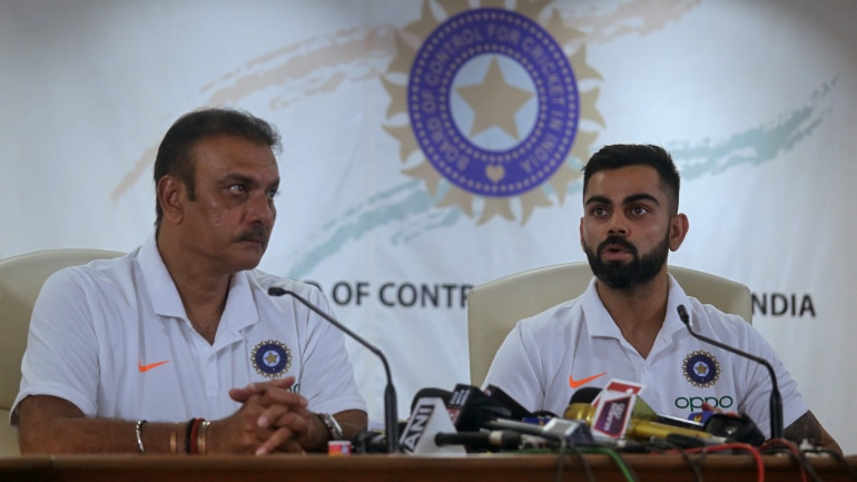 Coach Ravi Shastri and team to get 45-day extension after World Cup. (Reuters Photo)