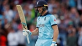 Jos Buttler hits England's fastest World Cup 100