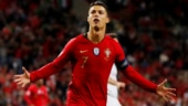 Ronaldo hat-trick sends Portugal to Nations League Finals