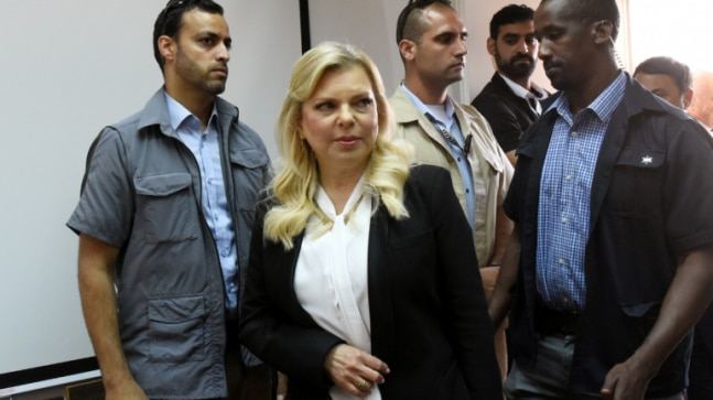 Israel PM Benjamin Netanyahus wife Sara admits criminal wrongdoing in meals catering case