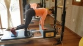 Stronger than before, new mommy Sania Mirza hustles hard at the gym. Watch workout video