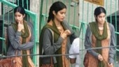 Janhvi Kapoor spotted shooting for RoohiAfza in Uttarakhand. See pic