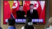 Chinese President Xi Jinping holds talks with Kim Jong-un in North Korea