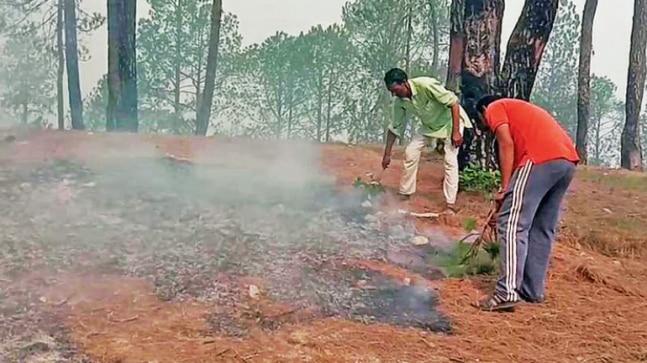 Uttarakhand suffers as fire rages on