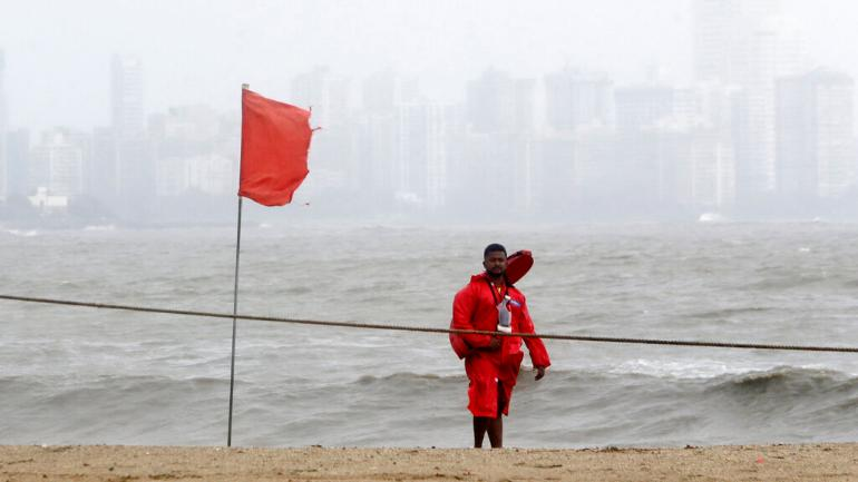 Cyclone Vayu is likely to make landfall as very severe cyclonic storm in Gujarat on Thursday afternoon, IMD said on Wednesday. (AP)