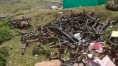 Auli still littered with quintals of garbage