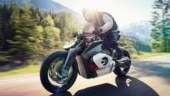 BMW Vision DC Roadster concept electric motorcycle unveiled