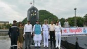 Defence Minister Rajnath Singh visits Eastern Naval Command