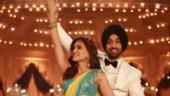 Kriti Sanon and Diljit Dosanjh burn the dance floor in Arjun Patiala song Main Deewana Tera
