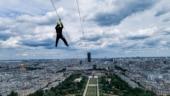 Breathtaking view of Paris from the Eiffel Tower. Photo: Twitter/La tour Eiffel