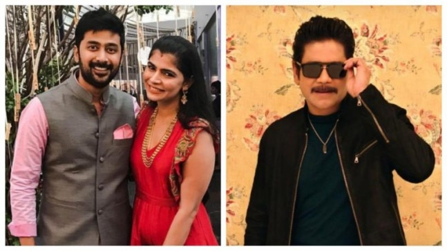 Chinmayi gets trolled for sharing Manmadhudu 2 teaser. Husband Rahul Ravindran shuts them down with epic reply