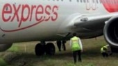 Air India flight veers off after landing at Mangaluru airport, gets stuck in grass