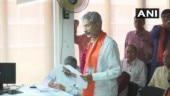 S Jaishankar files nomination papers for Rajya Sabha bypoll