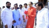 Uddhav Thackeray offers prayers at Ram Lalla temple in Ayodhya along with Shiv Sena MPs