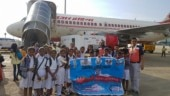 20 underprivileged children took a flight, say 'Seeing the clouds from the window was simply unbelievable'