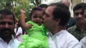 Watch: Rahul Gandhi's cute encounter with his youngest fan in Kerala's Kozhikode