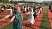 Jamia and AMU celebrate International Yoga Day in full swing