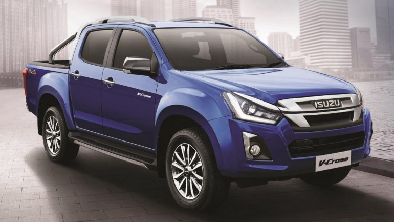 2019 Isuzu D Max V Cross Facelift Launched In India Price Starts At