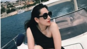Karisma Kapoor turns 45 by the pool in black scorching hot bikini. Don't miss her powerful post