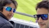 World Cup 2019: Mahesh Babu takes son Gautam to watch India vs Australia match. See pics