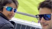 Mahesh Babu's son Gautam cheering for India at World Cup 2019 is too cute to handle. Watch video