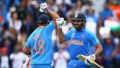 India toppled England to become the top ranked ODI team in the latest ICC rankings