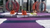 Baba Ramdev conducts yoga session at Rs 200 crore Gupta family wedding in Auli