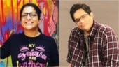 Aditi Mittal blasts Tanmay Bhat over depression video Photo: Instagram/ Aditi Mittal and tanmay Bhat