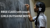RBSE result 2019 class 10th: Girls outshine boys