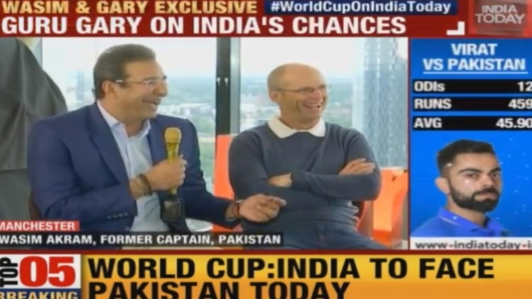 Wasim Akram and Gary Kirsten laid open their minds and hearts in an exclusive chat ahead of India vs Pakistan in World Cup 2019