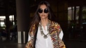 Sonam Kapoor slays airport fashion in boho chic outfit. Hubby Anand says illegal to look THAT good