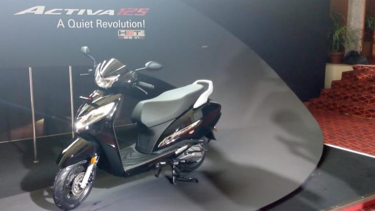 Honda Activa 125 BS6 unveiled, to be sold from late second