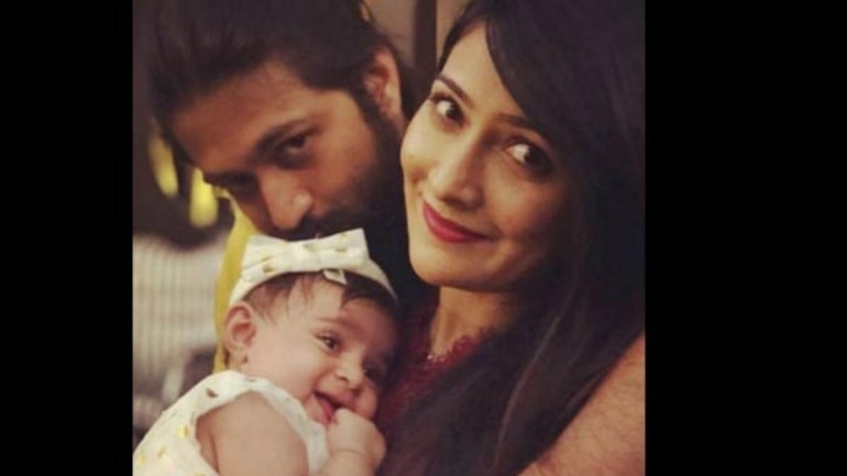 KGF actor Yash and Radhika Pandit reveal their baby's name, Ayra