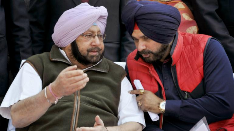 Sidhu vs Amarinder all out war: Sidhu says he is being singled out, skips Punjab Cabinet meet - India News