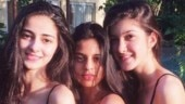 Ananya Panday clears the air about college admission. BFFs Suhana Khan and Shanaya Kapoor react