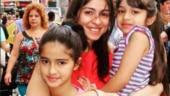 Riddhima Kapoor shares sweet throwback photo of Ananya Panday with mom Bhavna and sister Rysa. See pic