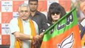 Bangladeshi actress Anju Ghosh joins BJP