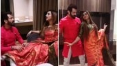 Arshi Khan, Manu Punjabi groove together, have a blast. Watch video