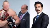 Ranveer Singh gets legal notice from WWE star Brock Lesnar for use of phrase