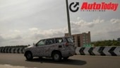 Fourth-generation Mahindra Scorpio spied testing