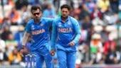 Watch: Yuzvendra Chahal beats Kuldeep Yadav in wrong arm shootout
