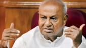 Mid-term polls will be held in Karnataka, says Deve Gowda, slams coalition partner Congress