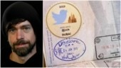 Dubai greets Twitter boss Jack Dorsey with special stamp on passport. Internet hearts it