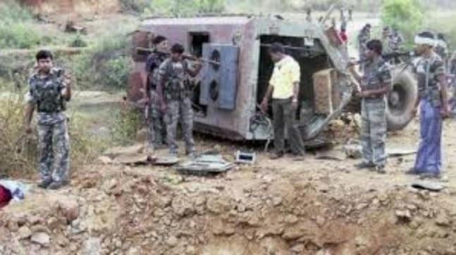 Chhattisgarh: DRG jawan injured in IED blast
