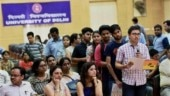 DU first cut off released: How students and parents fared in the battle for top college seats