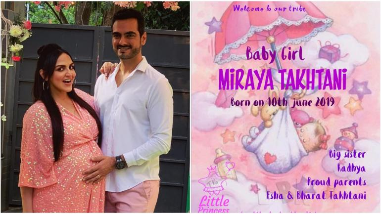 Esha Deol reveals why she named her second daughter Miraya