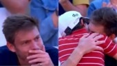 Emotional Nicolas Mahut gets hug from son after losing in French Open. Twitter left teary-eyed