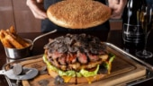 Tokyo restaurant serves 3kg giant burger for Rs 70,000. Guess what it contains