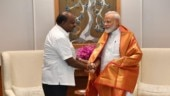 Karnataka CM HD Kumaraswamy meets PM Modi, seeks funds to tackle drought