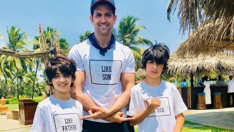 Hrithik Roshan shares life gyan with sons  Compares his life